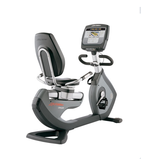 Life Fitness 95R Inspire Commercial Recumbent Bike.Call Now For Lowest Pricing Guaranteed!.