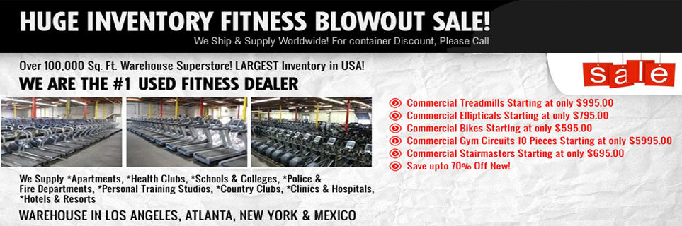 Gympros Is the Largest Fitness Equipment Resource In The USA!
