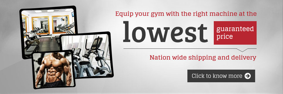 Lowest Guaranteed Price On Gym Equipment