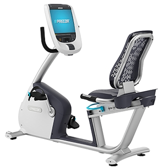 Precor RBK 885 Recumbent Bike w/ P80 Console. Call Now For Lowest Pricing Guaranteed!