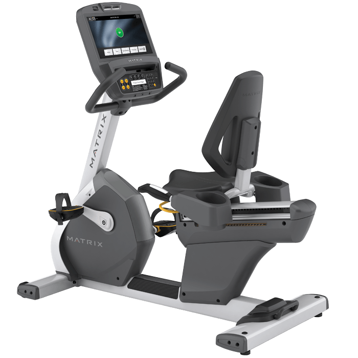 Commercial Exercise Equipment Brands: Matrix R7xe Commercial Remanufactured Recumbent. Call Now
