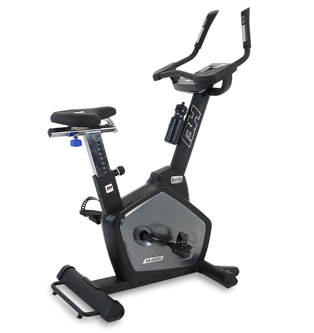 Commercial Exercise Equipment Brands: LK500Ui Upright Cycle-New)