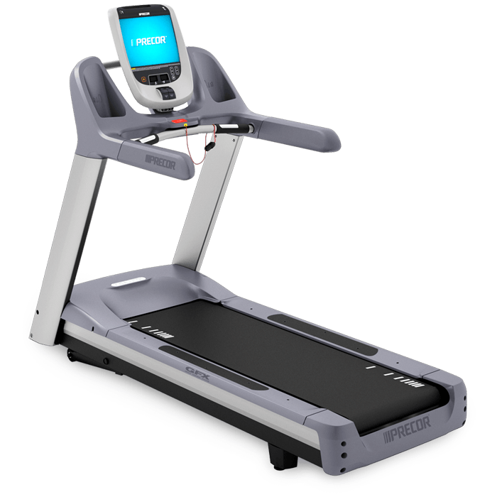 Precor TRM 885 Remanufactured Commercial Treadmill. Call Now For Lowest Pricing Guaranteed!