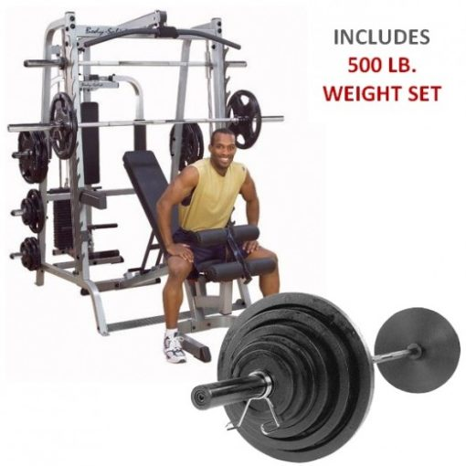 Hoist Multi Gym Mi7 Smith Ensemble: COMMERCIAL SMITH MACHINE GYM ENSEMBLE -NEW