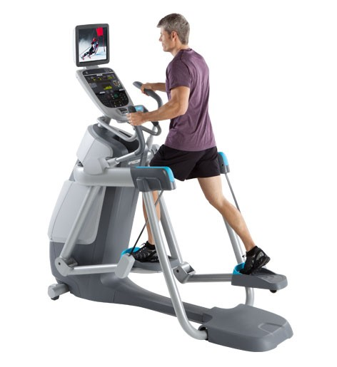 precor amt machine workout
