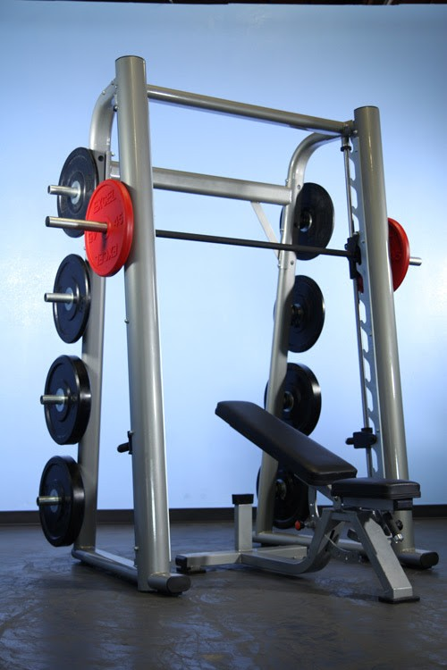 Commercial Linear Bearing Smith Machine New Gym Pros