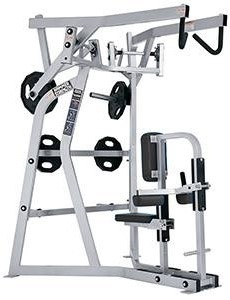 34f3bf10d1 Hammer Strength Plate-Loaded Iso High Row-Remanufactured - Gym Pros