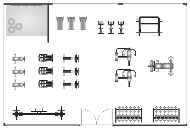 gym floor plan 1