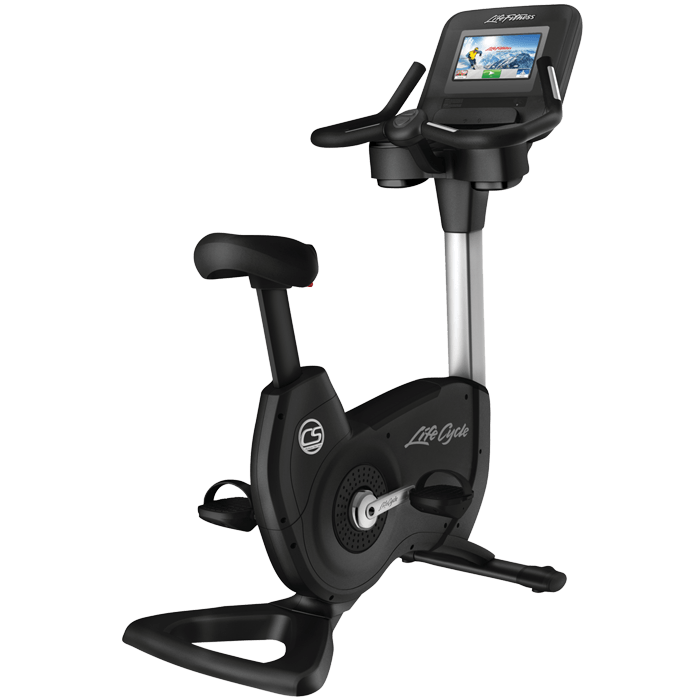 Life Fitness  Discover SI Platinum Club Series Upright Life cycle