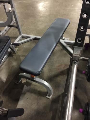 (2) Flat Bench