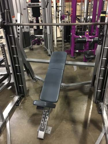 (2) Olympic Incline Bench