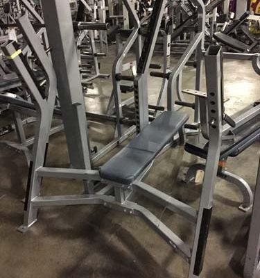 (3) Cybex Olympic Flat Bench