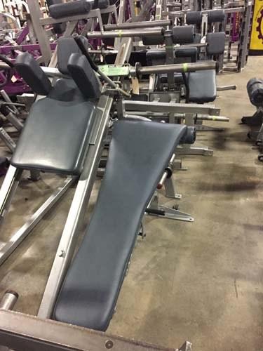 Nautilus Adjustable Decline Bench