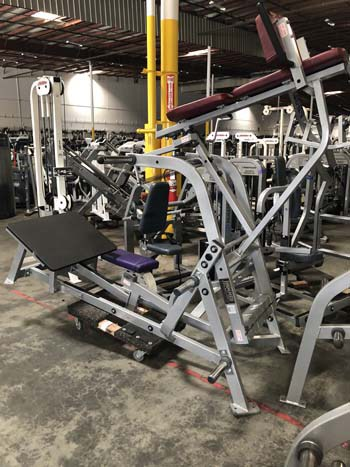 Hammer Strength V Squat Gym Pros