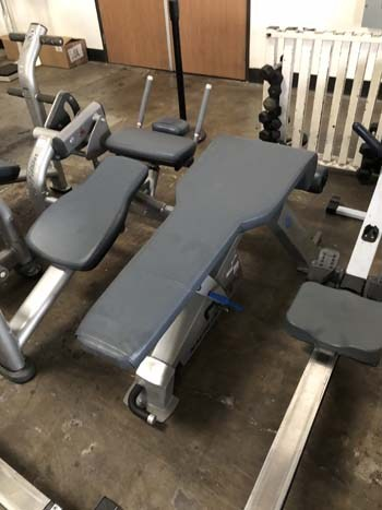 Stairmaster For Sale >> Nautilus Adjustable Decline Bench - Gym Pros