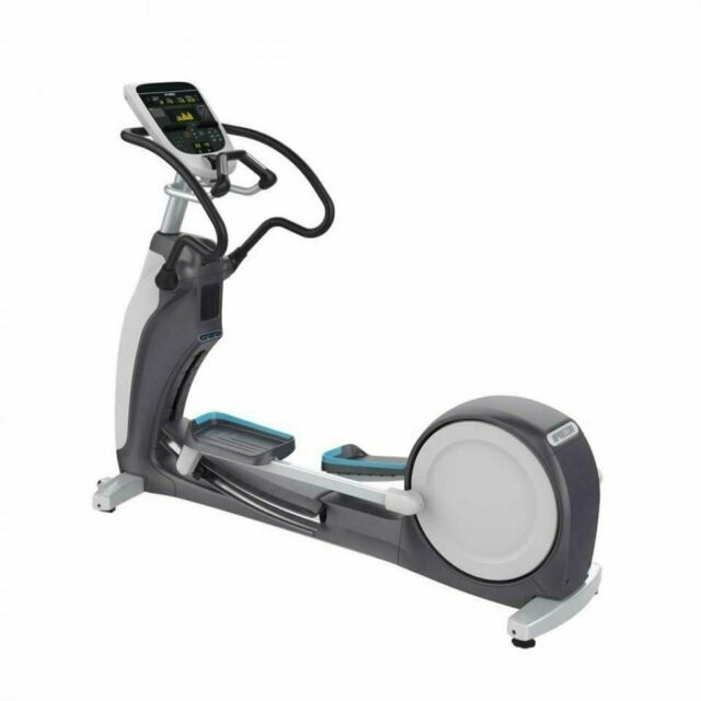 Precor EFX 833 Elliptical w/Converging Crossramp + p30 Console (Remanufactured) Call 888-502-2348 For Lowest Pricing