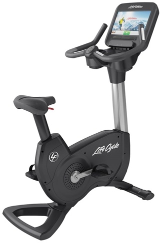 Life Fitness Elevation Discover Se Upright Bike-Remanufactured. Call Now For Lowest Pricing