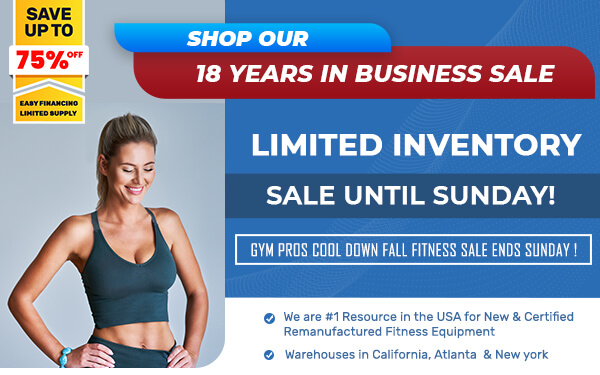 18 Years in Business - Shop our Limited Inventory - Sale Ends Sunday