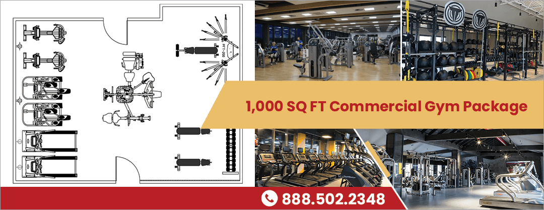 1000 commercial gym package